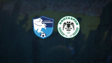 Büyükşehir Belediye Erzurumspor-Konyaspor maçı CANLI