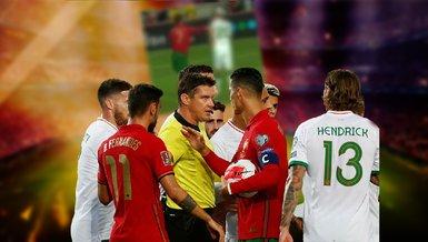 Son dakika spor haberi: Rakibine tokat attı! Cristiano Ronaldo'dan şaşırtan hareket