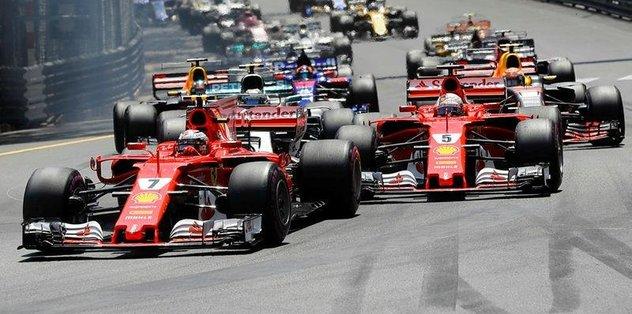 Ferrari, Monaco'da zafere ulaştı