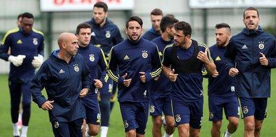 Fenerbahçe 9 kişiyle çalıştı