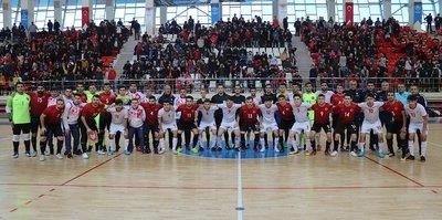 A Milli Futsal Takımı Tacikistan ile karşılaştı