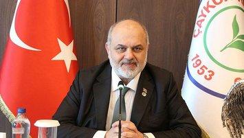 Rizespor'da Tahir Kıran adaylığını açıkladı