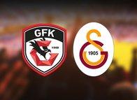 İşte Gaziantep FK-Galatasaray maçı ilk 11'leri