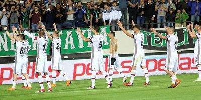 Beşiktaş Akhisar'ı 3-0 mağlup etti