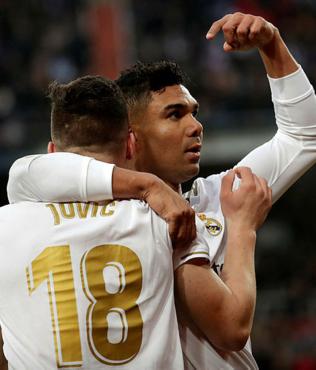 MAÇ SONUCU Real Madrid 2-1 Sevilla