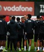 Beşiktaş'ta gözler Monaco maçına çevrildi