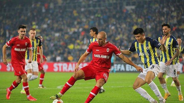 FENERBAHÇE HABERLERİ - Belçika basını Fenerbahçe-Antwerp maçını böyle gördü!