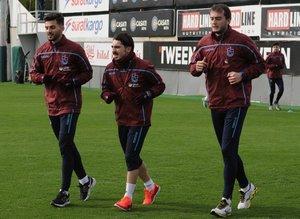 Trabzonspor antrenmanından fotoğraflar