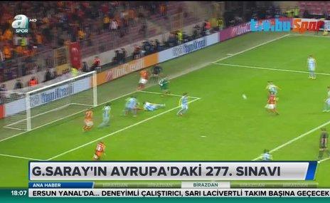 Galatasaray'ın Avrupa'daki 277.sınavı