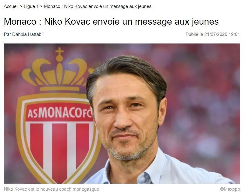 monaconun yeni hocasi kovactan genc oyuncularla ilgili flas sozler onyekuru 1595412417946 - Monaco'nun yeni hocası Kovac'tan genç oyuncularla ilgili flaş sözler! Onyekuru...