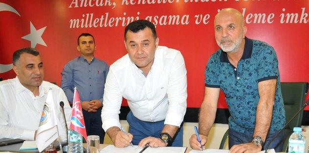 Alanyaspor'da kombine kampanyası