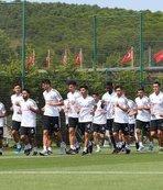 Beşiktaş günü çift antrenmanla tamamladı