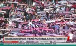 Trabzonspor yeni formaları tanıttı