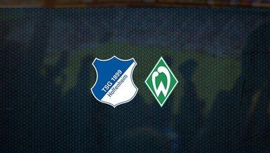 Hoffenheim - Werder Bremen maçı ne zaman, saat kaçta ve hangi kanalda canlı yayınlanacak? | Almanya Bundesliga