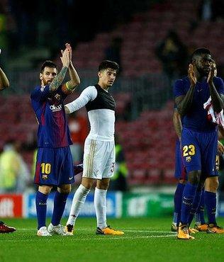Barça 10 kişiyle kazandı