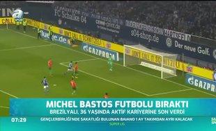 Michel Bastos futbolu bıraktı