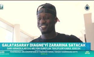 Galatasaray Diagne'yi zararına satacak