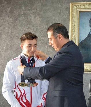 Şampiyon altınla ödüllendirildi
