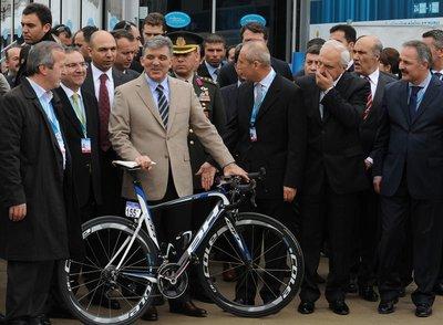 47. Cumhurbaşkanlığı bisiklet turundan kareler (2. gün)