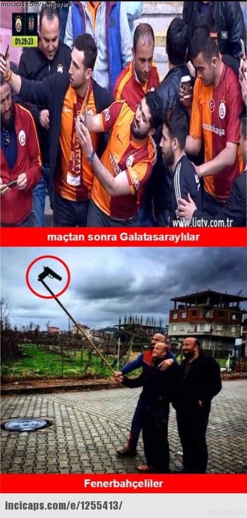 G.Saray-Beşiktaş caps'leri