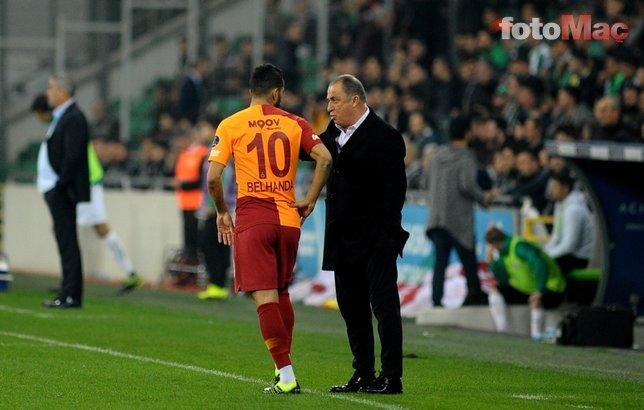 Galatasaray'da Fatih Terim - Belhanda krizi! İşte flaş olayın detayları