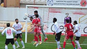 7 gollü maçta kazanan Ümraniyespor!