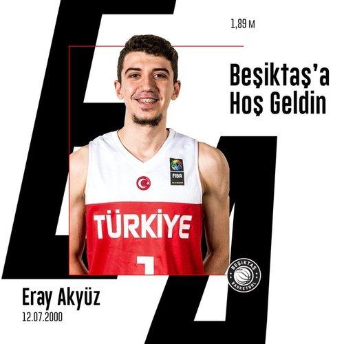 besiktas eray akyuzu resmen kadrosuna katti 1596799999782 - Beşiktaş Eray Akyüz'ü resmen kadrosuna kattı!