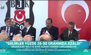 Beşiktaş Genel Sekreteri Urgancılar'dan gelir açıklaması!