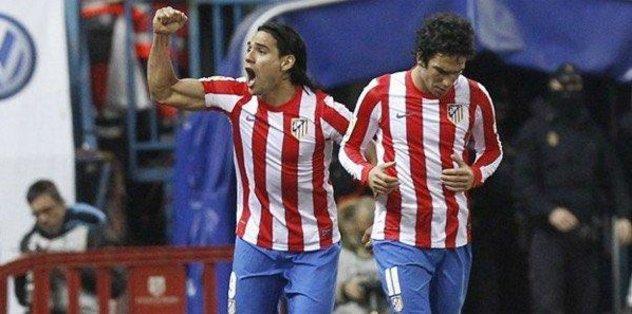 Falcao'dan Arda Turan'a 'Hoş geldin' mesajı - Futbol -