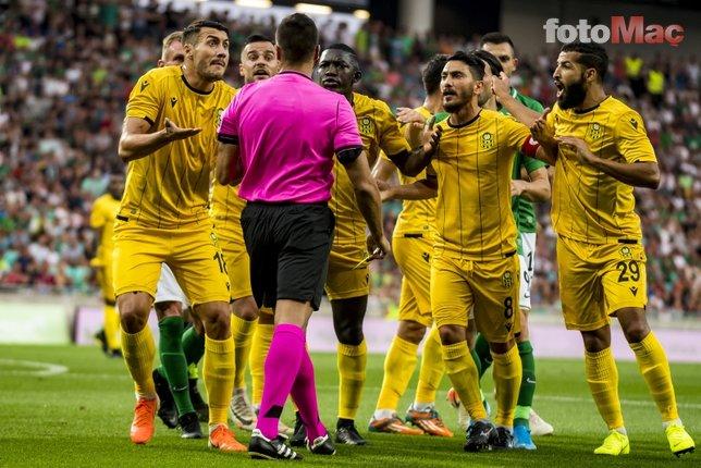 Temsilcimiz Yeni Malatyaspor'a Slovenya'da büyük terbiyesizlik!