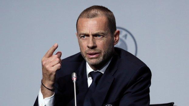 UEFA Başkanı Ceferin'den Avrupa Süper Ligi tepkisi! Açgözlülükten... #