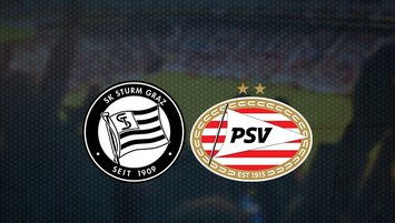 Sturm Graz - PSV Eindhoven maçı saat kaçta ve hangi kanalda?