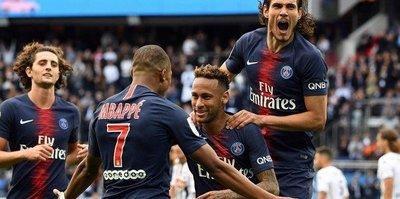 Fantastik üçlü! PSG 3-1 Angers maç sonucu