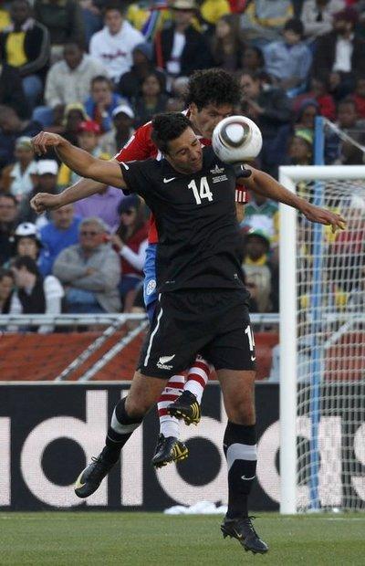 Paraguay - Yeni Zelanda (F Grubu maçı)