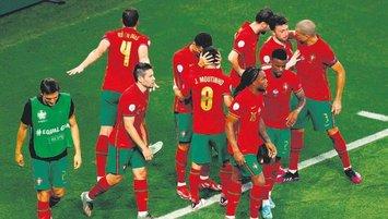Portekiz nefes nefese