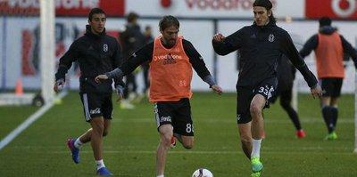 Beşiktaş, Lyon hazırlıklarını sürdürdü