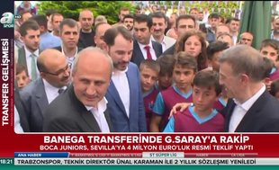 Albayrak Trabzonspor'un bayramlaşma töreninde