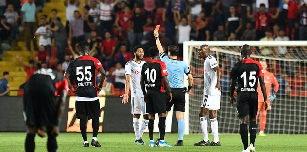 Gazişehir Gaziantep 3-2 Beşiktaş | MAÇ SONUCU