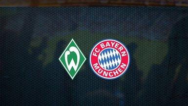 Werder Bremen - Bayern Münih maçı ne zaman, saat kaçta ve hangi kanalda canlı yayınlanacak?   Almanya Bundesliga