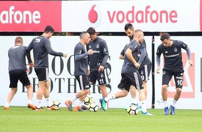 Beşiktaşta Akhisarspor hazırlıkları sürüyor