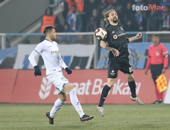 BB Erzurumspor - Beşiktaş maçından kareler
