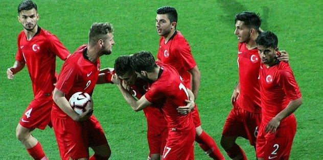 Ümit millilerin rakibi Kosova