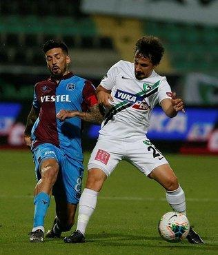 Trabzonspor'da sarı kart gören Sosa cezalı duruma düştü
