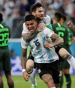 Arjantin 86'da dünyaya döndü!