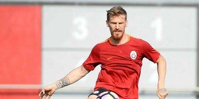 Galatasaray'da Serdar Aziz sevinci