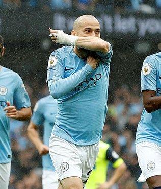 Manchester City 6 golle kazandı