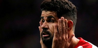 Atletico Madrid'in yıldızı Diego Costa'ya boyun fıtığı teşhisi