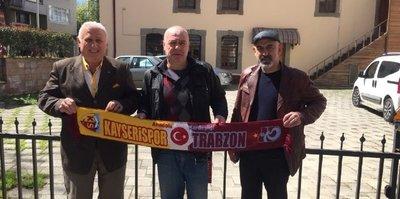 Trabzonspor ve Kayserispor'dan örnek dostluk