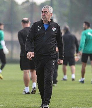 Bursaspor'da Alanyaspor maçı hazırlıkları sürüyor