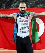 Ramil Guliyev rekorla kazandı